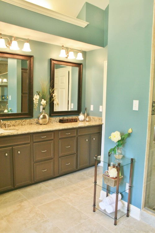 Bathroom Remodeling Bossier City romantic master bathroom update – ashley's building